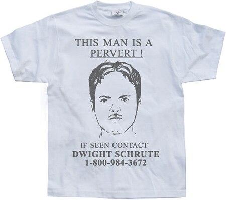 Dwight Schrute Is A Pervert