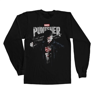 6ea2a988c Marvel's The Punisher Blood Long Sleeve Tee