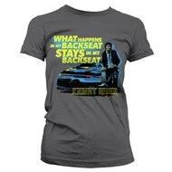pretty nice 1181c 97bc5 Knight Rider - Backseat Girly T-Shirt