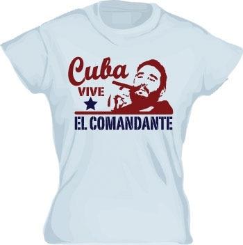 El Comandante Girly T-shirt