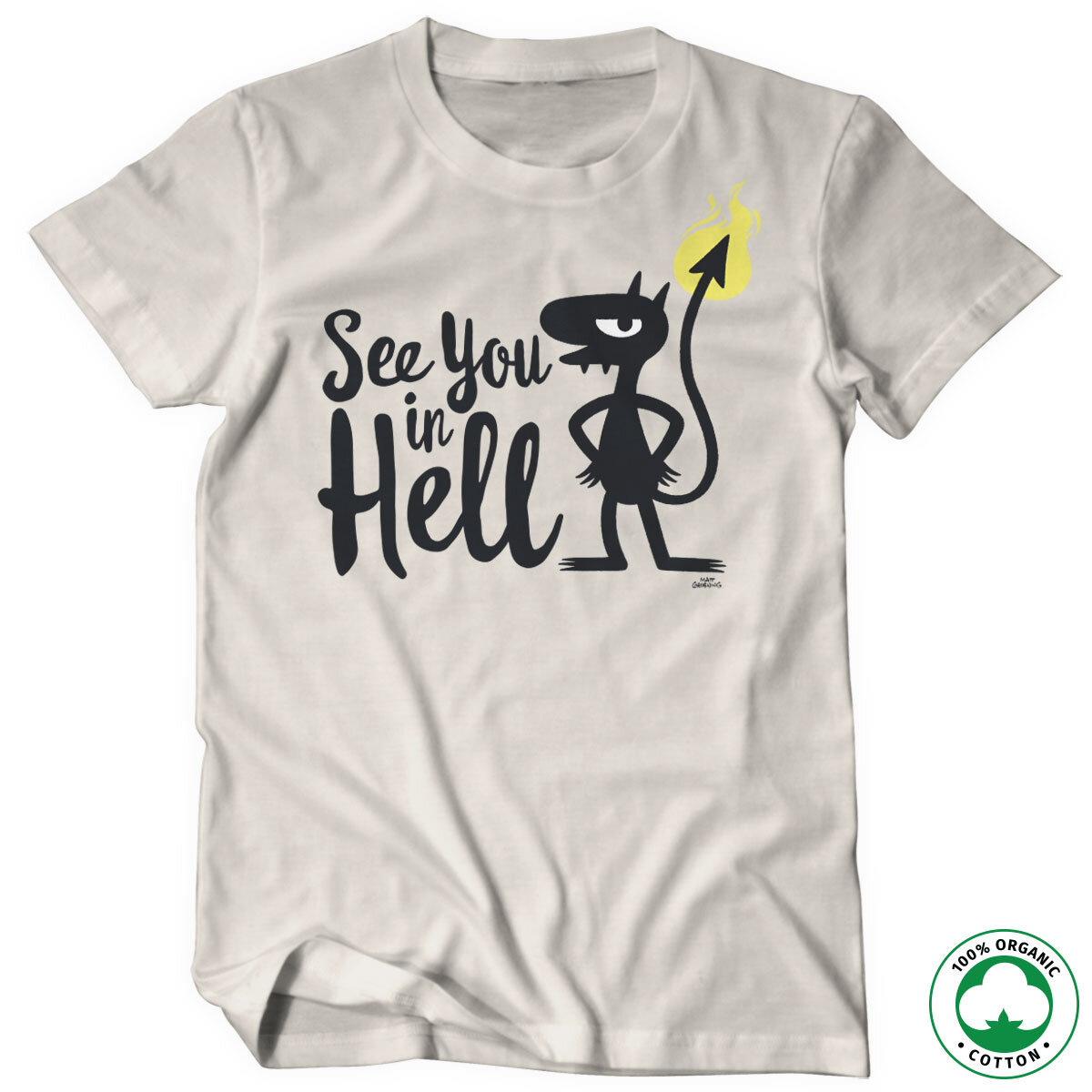 Luci - See You In Hell Organic Tee