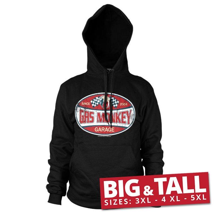 GMG Since 2004 Label Big & Tall Hoodie