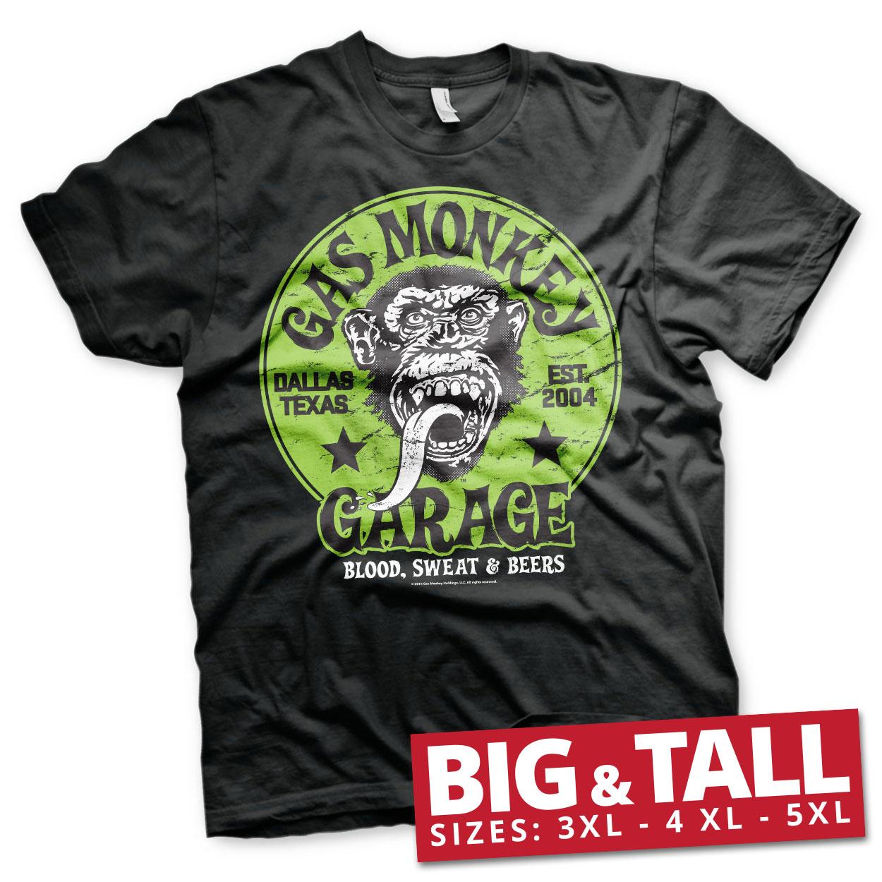 Gas Monkey Garage - Green Logo T-Shirt