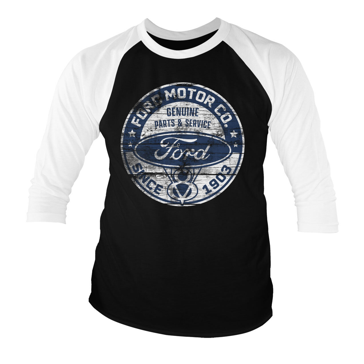 Ford Motor Co. Since 1903 Baseball 3/4 Sleeve Tee