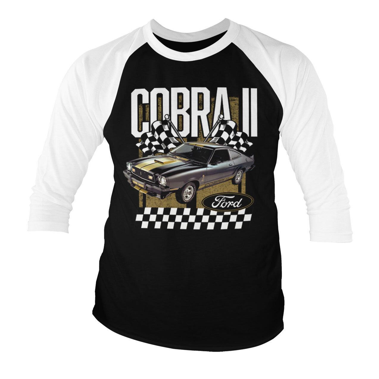 Ford Cobra II Baseball 3/4 Sleeve Tee