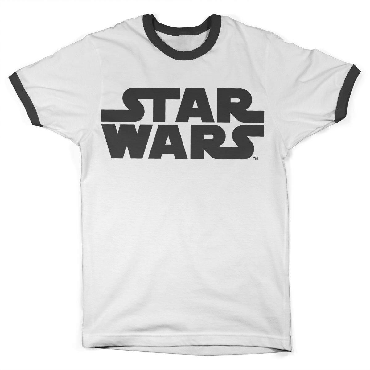 Star Wars Black Logo Ringer Tee
