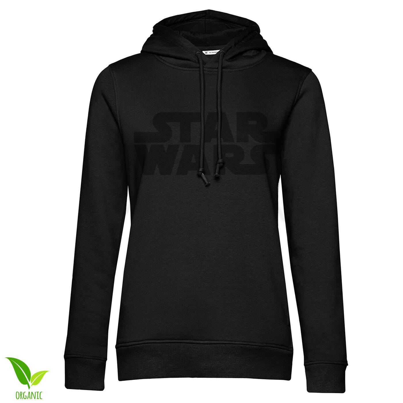 Star Wars Black Logo Girls Hoodie
