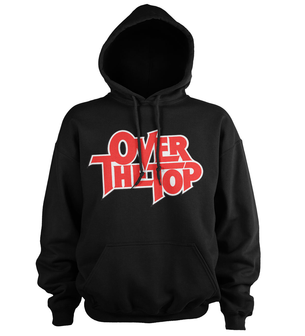 Over The Top Logo Hoodie