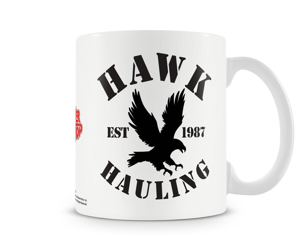 Hawk Hauling Coffee Mug