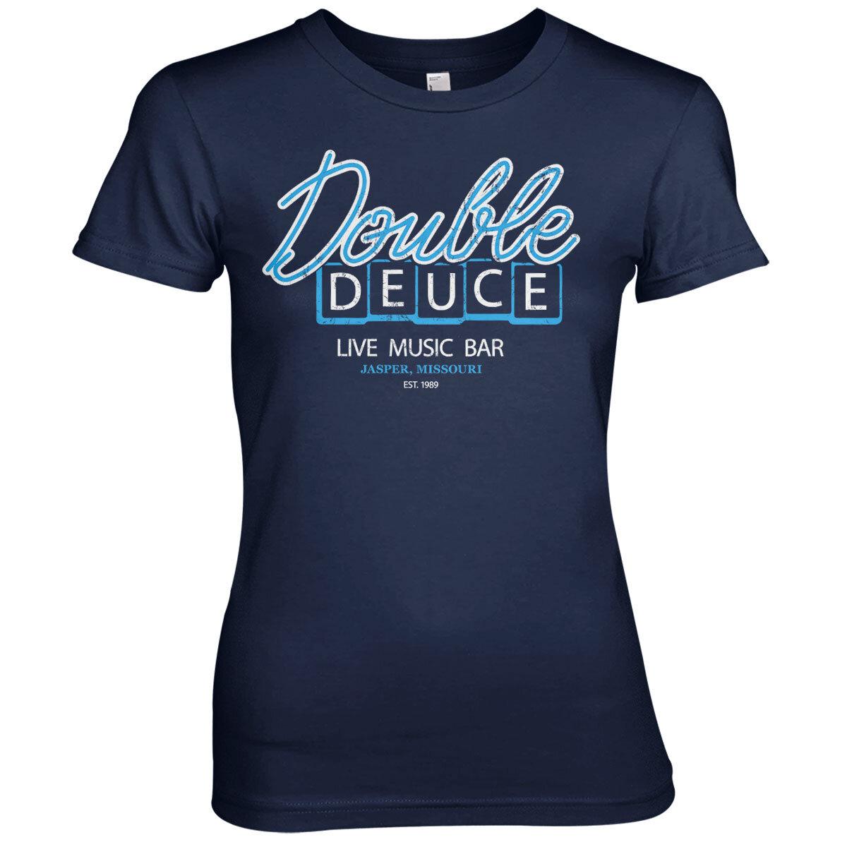 Double Deuce Live Bar Girly Tee