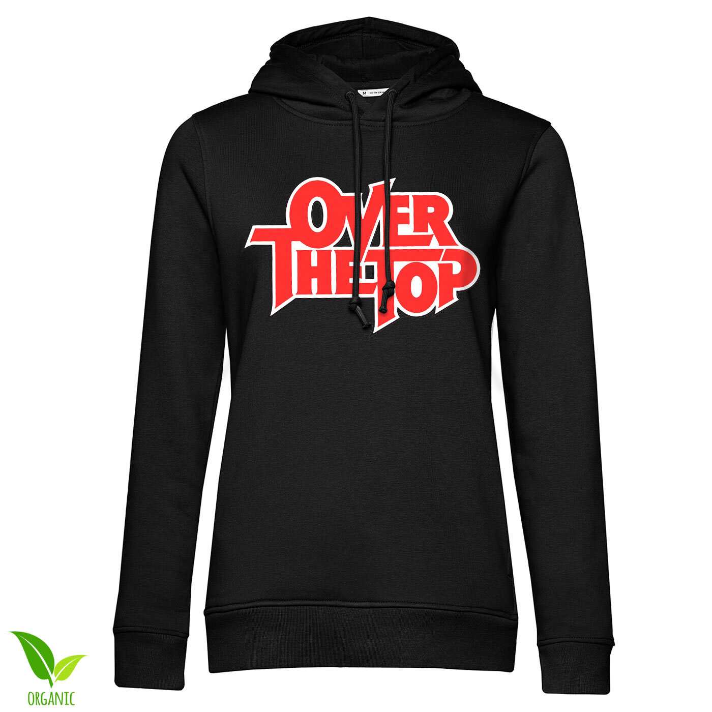 Over The Top Logo Girls Hoodie