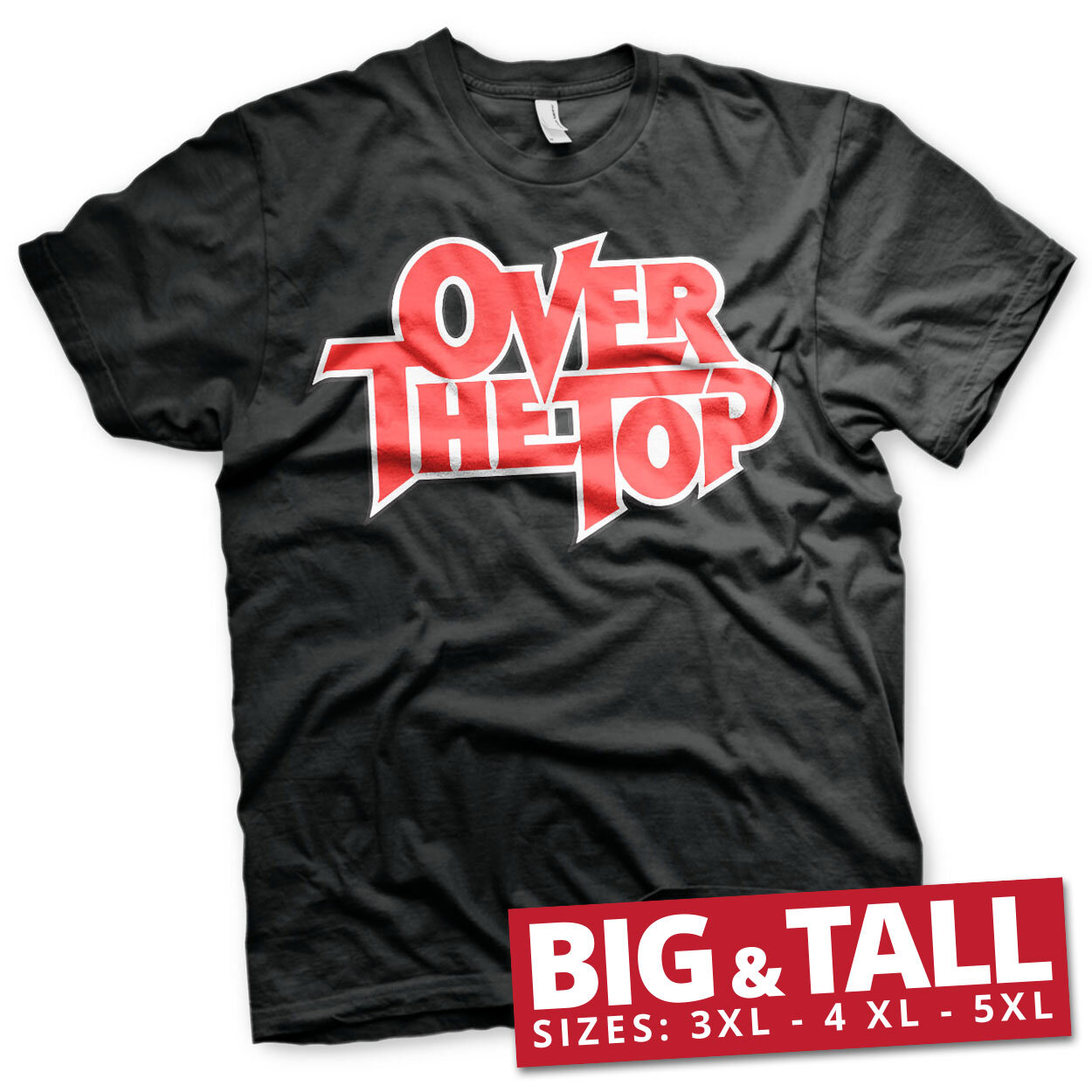 Over The Top Logo Big & Tall T-Shirt