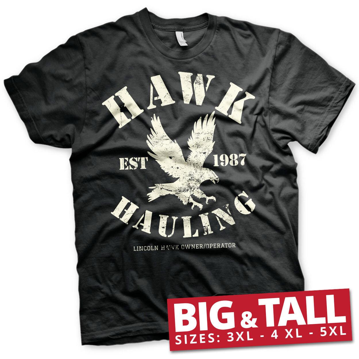 Hawk Hauling Big & Tall T-Shirt