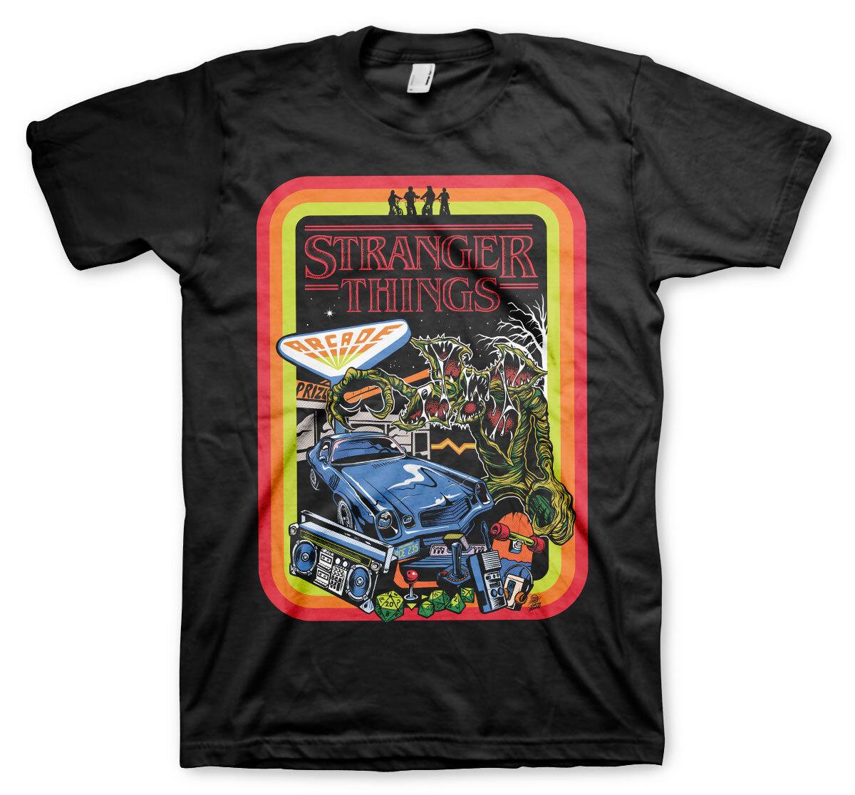 Stranger Things Retro Poster T-Shirt