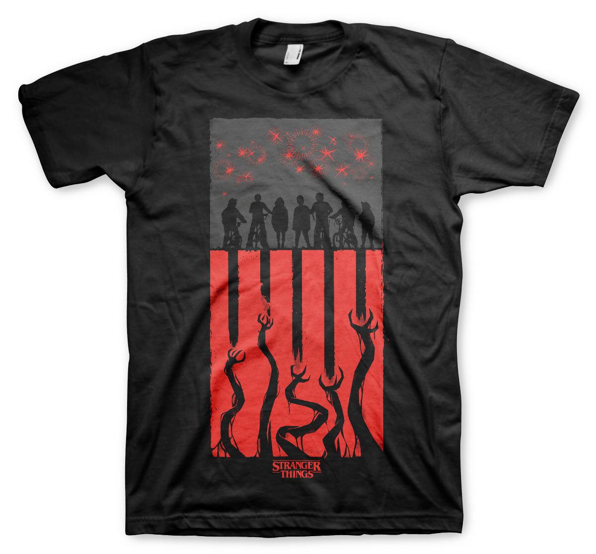 Stranger Things Flag T-Shirt