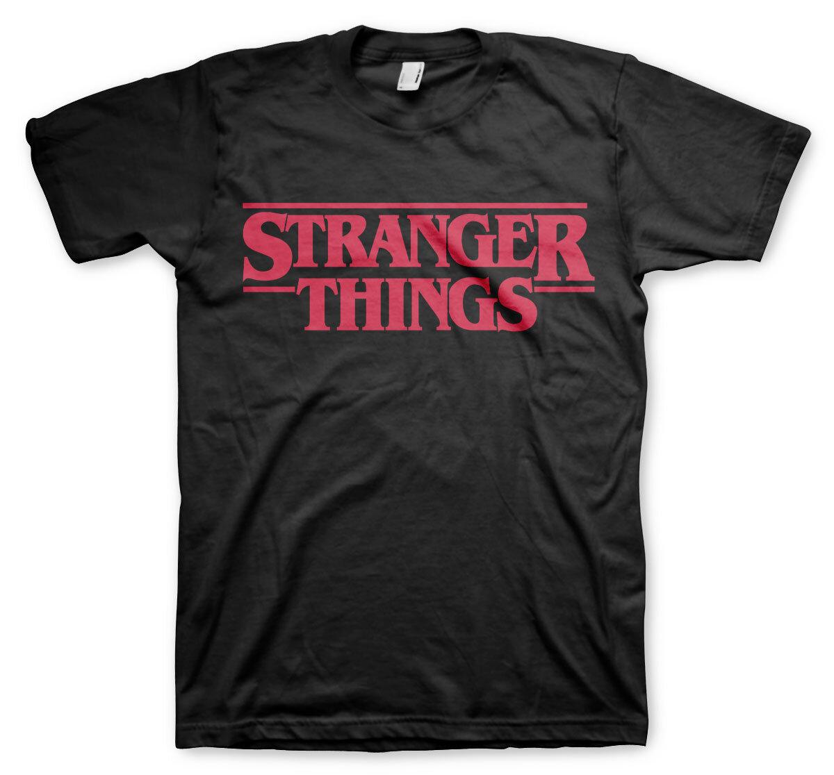 Stranger Things Logo T-Shirt