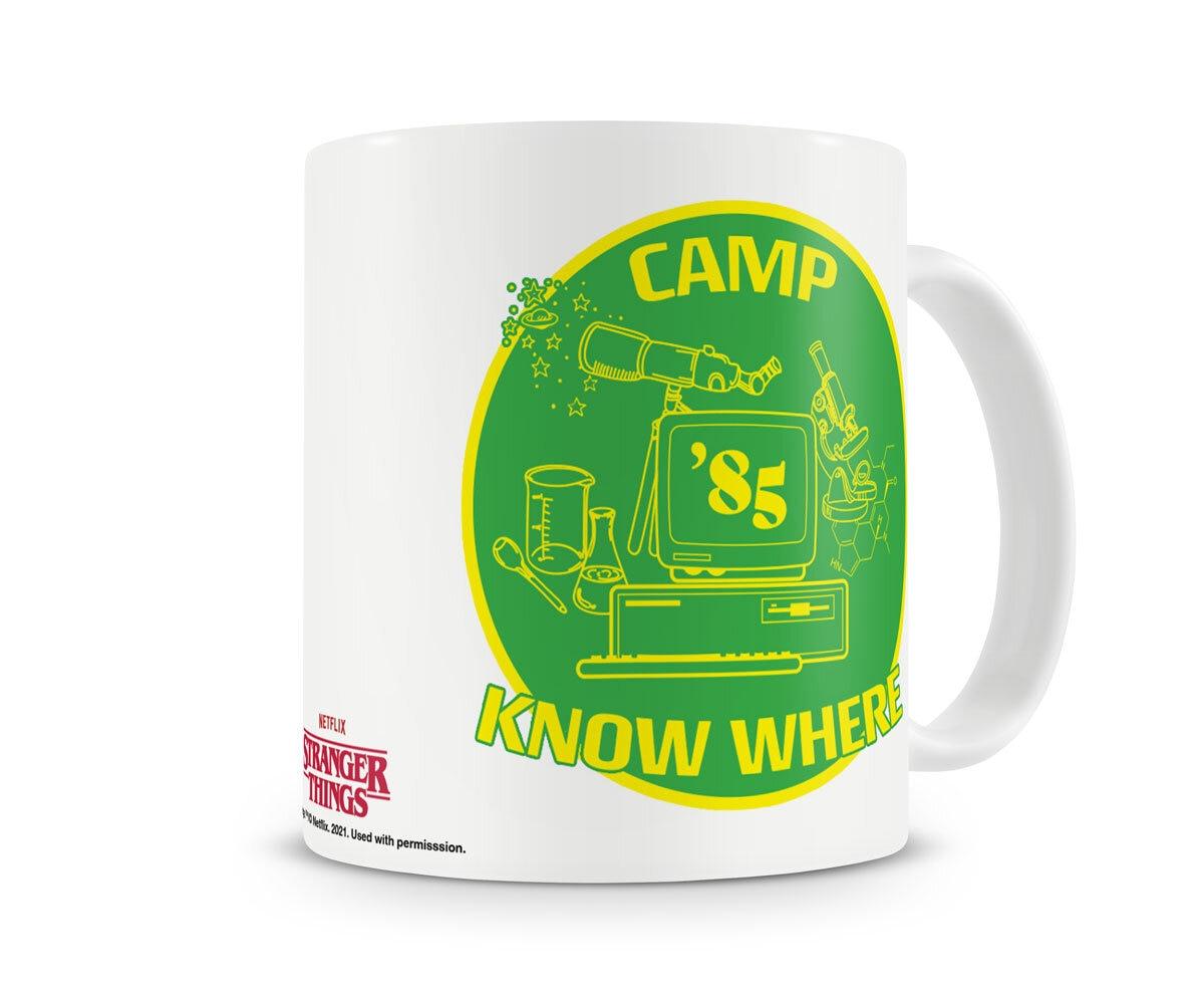 Camp Know Where Coffee Mug