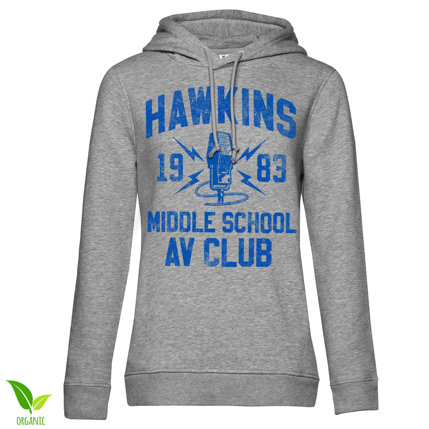 Hawkins 1983 Middle School AV Club Girls Hoodie