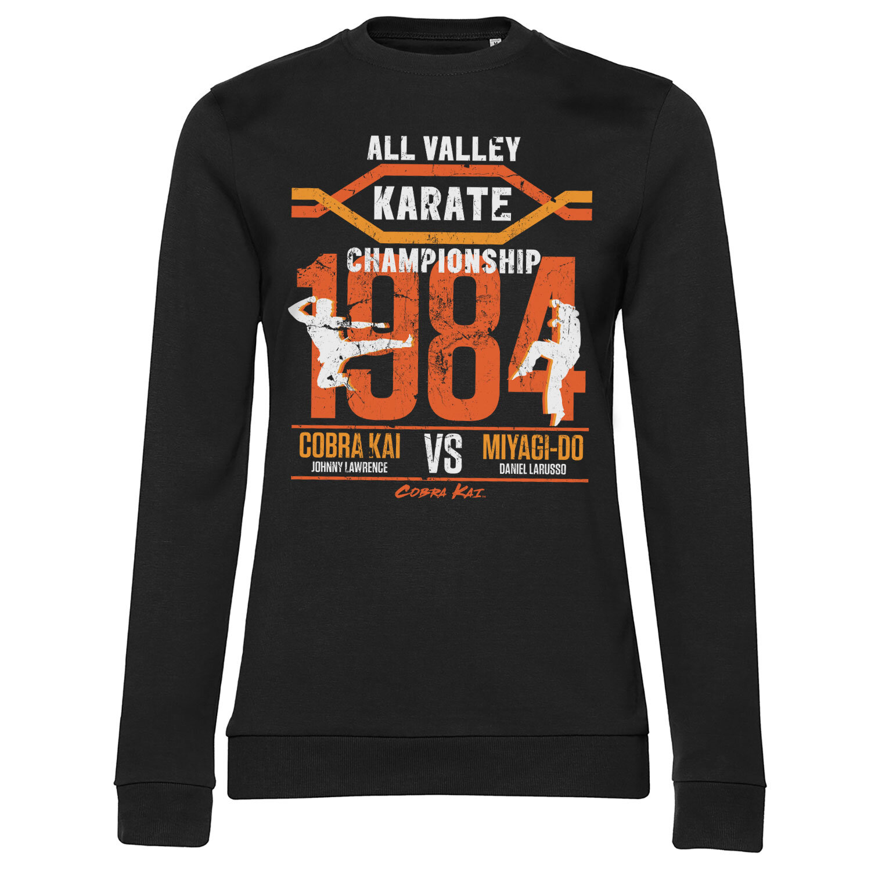 All Valley Karate Championship Girly Sweatshirt