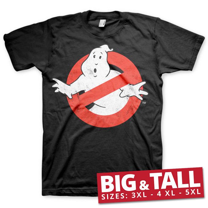 Ghostbusters Distressed Logo Big & Tall T-Shirt