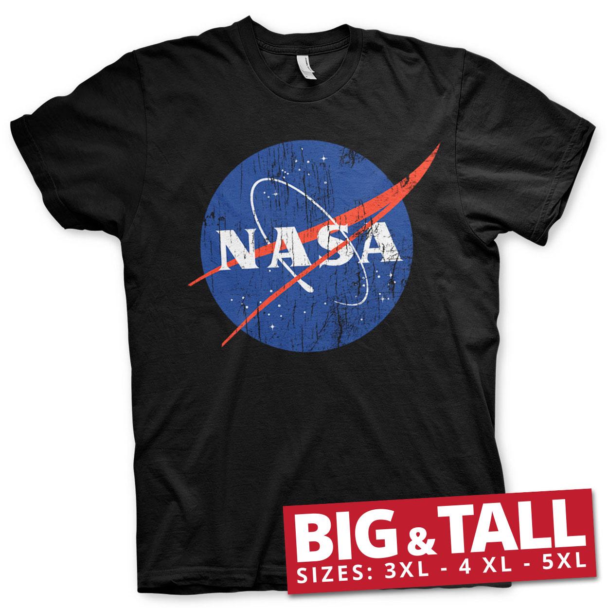 NASA Washed Insignia Big & Tall T-Shirt