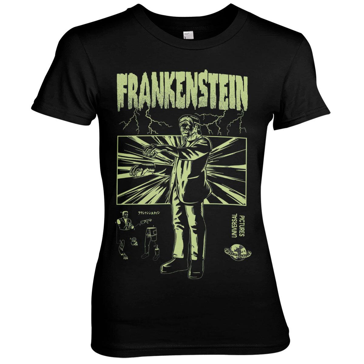 Frankenstein Retro Girly Tee
