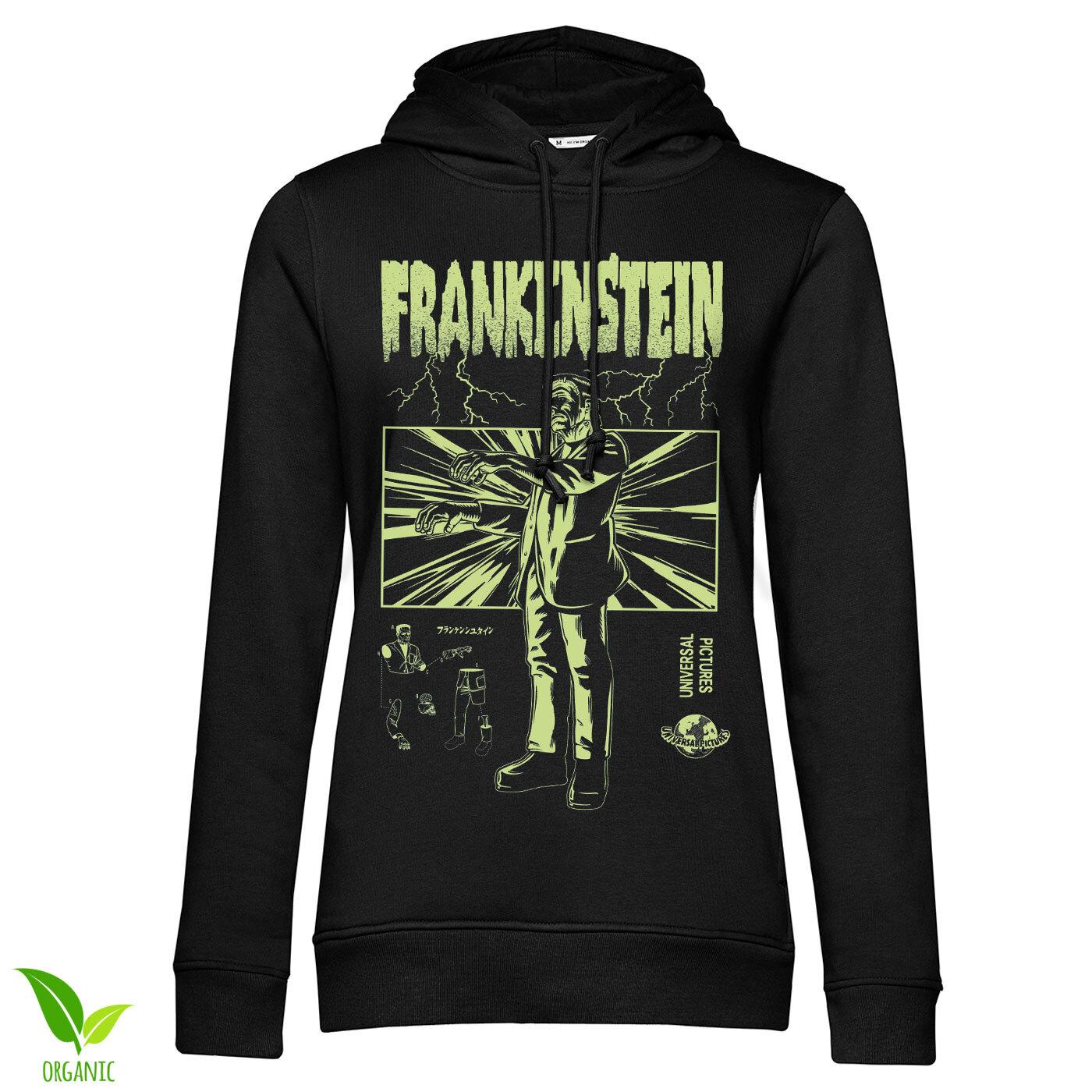 Frankenstein Retro Girls Hoodie